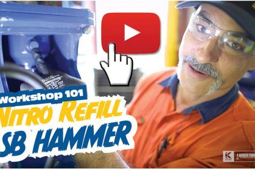 SB Hammer Range Workshop 101: How to refill your breaker with nitrogen